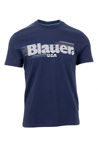 BLAUER MAN BLUE T-SHIRT 2334