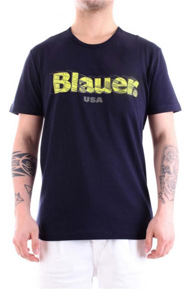 BLAUER MEN BLUE 3D T-SHIRT 2397
