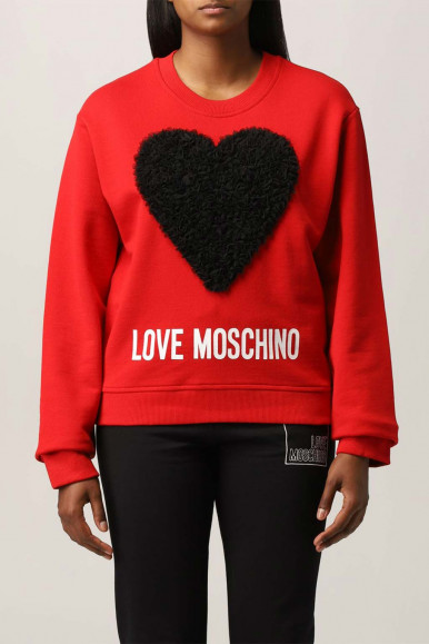 MOSCHINO RED WOMAN SWEATER 6306-45