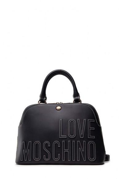 LOVE MOSCHINO WOMAN'S BLACK TRUNK 4176
