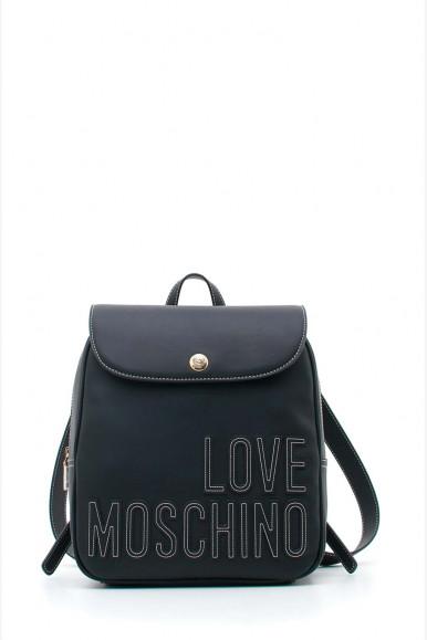 LOVE MOSCHINO WOMAN'S BLACK BAG 4178