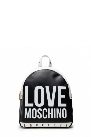 LOVE MOSCHINO ZAINO NERO-BIANCO DONNA 4183