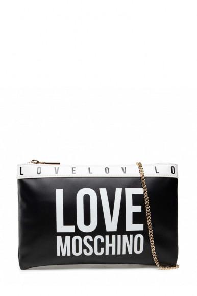 LOVE MOSCHINO TRACOLLA BIANCO-NERO DONNA 4185