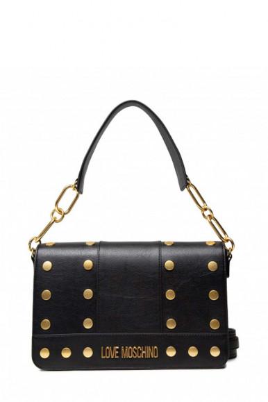 LOVE MOSCHINO WOMAN'S BLACK BAG 4218