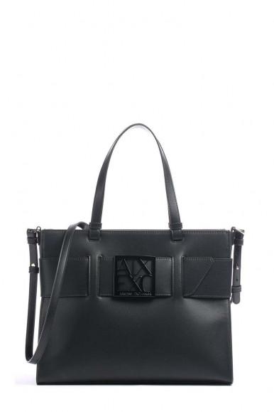 ARMANI EXCHANGE BLACK WOMAN'S SHOUDLER BAG 942695