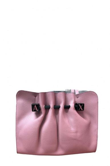 ARMANI EXCHANGE PINK WOMAN'S SHOUDLER BAG 942763
