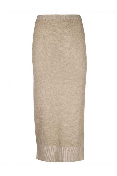 ARMANI EXCHANGE GOLD WOMAN'S TIGHT DRESS 6KYA1H