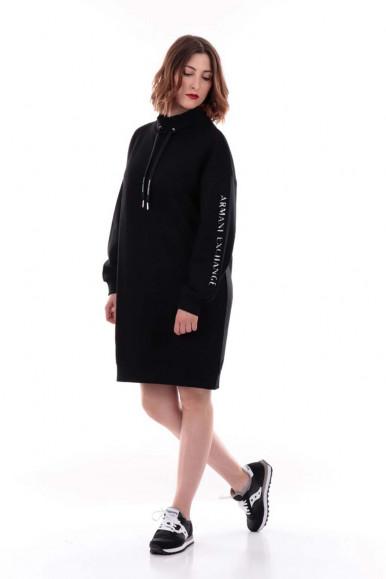ARMANI EXCHANGE BLACK WOMAN'S DRESS 6KYA78
