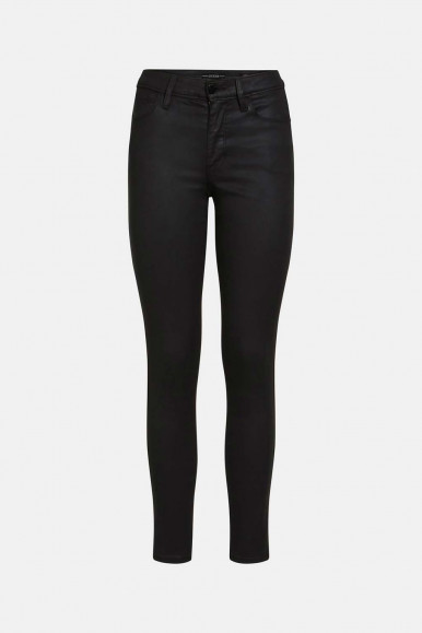 GUESS JEANS NERO DONNA SEXY CURVE HARR