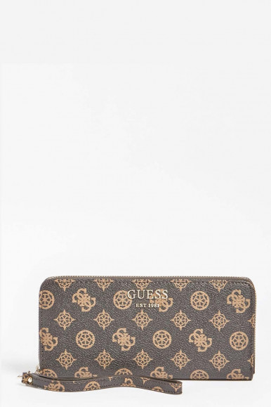 GREY-GOLD WOMAN'S GUESS VIKKY WELLET