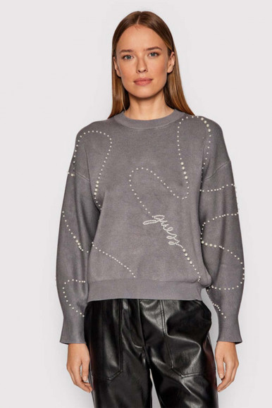 GREY WOMAN'S GUESS GINNY JERSEY