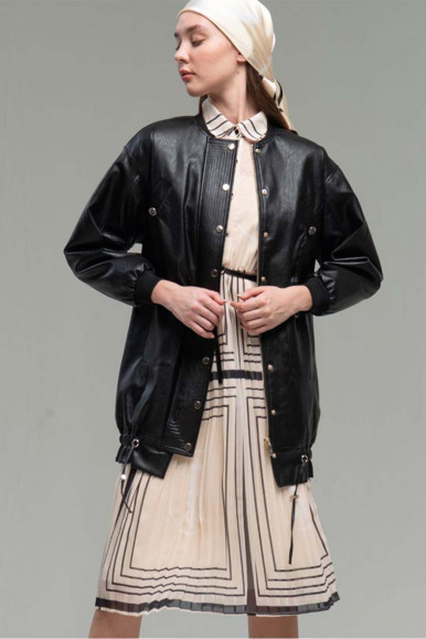 CREME WOMAN'S FRACOMINA PLISSE' DRESS