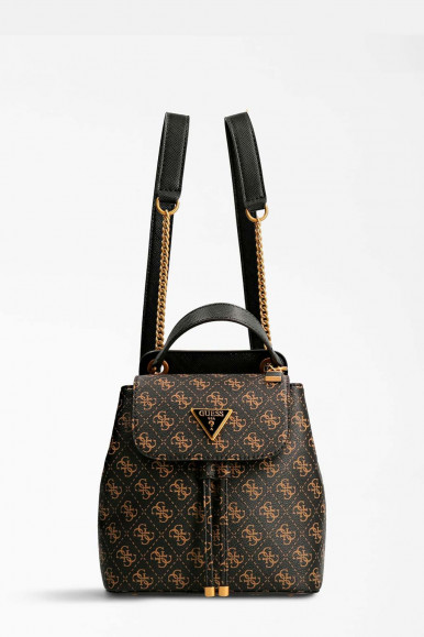 BROWN WOMAN'S GUESS CORDALIA BACKPACK