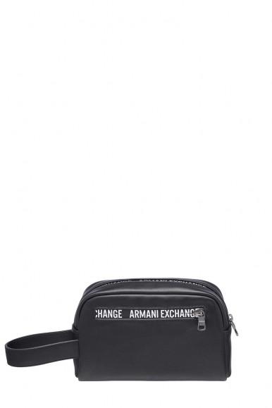 ARMANI EXCHANGE BEAUTY CASE NERO UOMO 958410