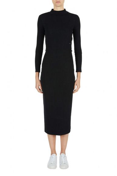 BLACK WOMAN'S ARMANI EXCHANGE DRESS 6KYAB