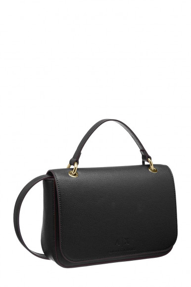 BLACK WOMAN'S ARMANI EXCHANGE HAND BAG 942736
