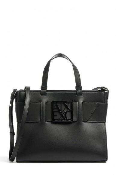 BLACK WOMAN'S ARMANI EXCHANGE HAND BAG 942689