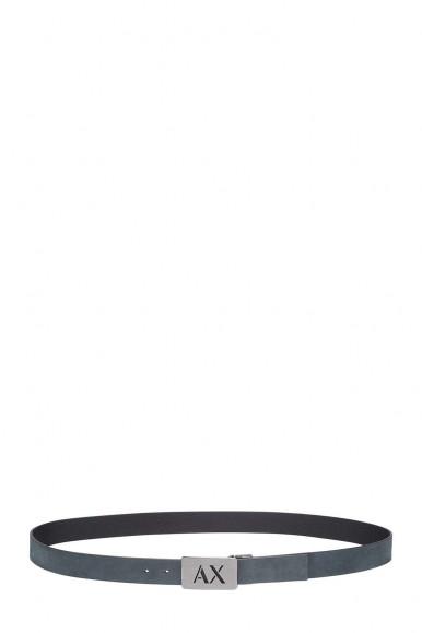 ARMANI EXCHANGE CINTURA REVERSIBILE GRIGIO-NERO UOMO 951279