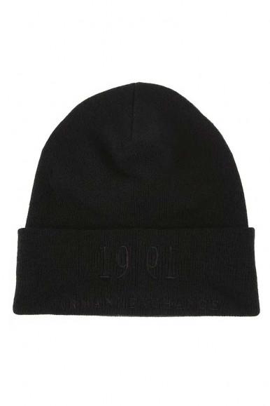 ARMANI EXCHANGE BLACK MAN'S CAP 95466