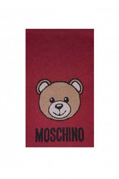 MOSCHINO SCIARPA ROSSA CON ORSO 30666