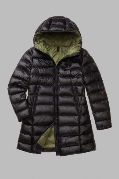 Black long woman's Blauer Jacket 2126