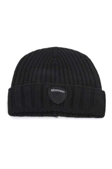 BLACK MAN'S CAP WITH BALUER SHIELD 5388