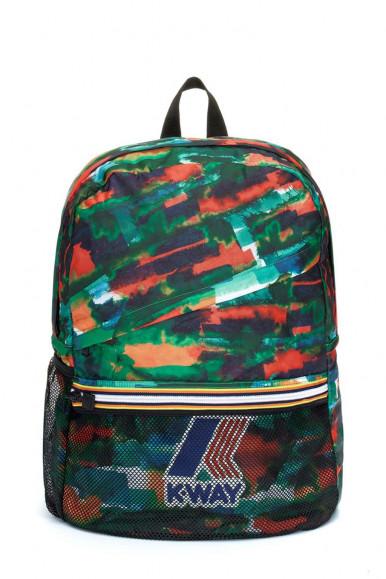 Zaino Multicolore K-Way Le Vrai 3.0