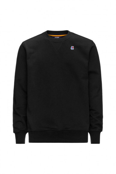 Black man's K-Way Baptiste sweatshirt