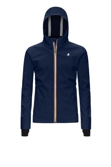 Blue man's K-Way Jack Bonded Jacket