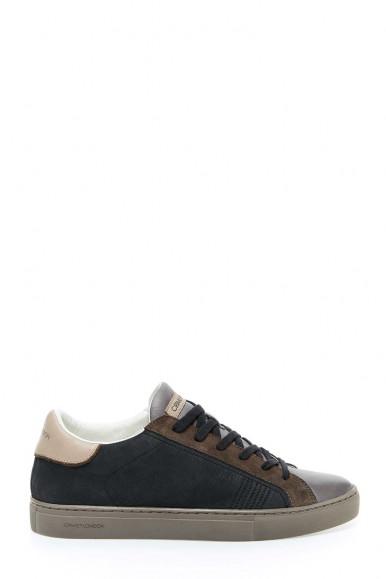 Sneakers nero-bianco uomo Crime London 10610