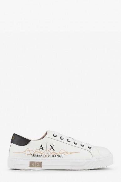 Sneakers bianca donna Armani Exchange XDX027