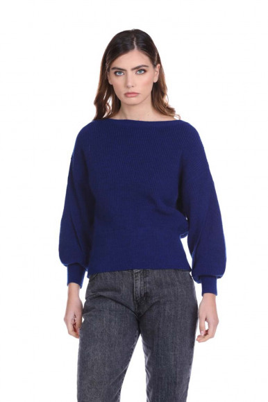 RELISH BLUE WOMEN'S SWEATER ORMYT