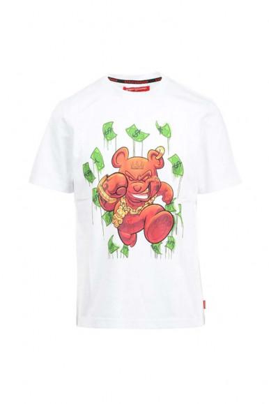 T-Shirt bianca uomo money bear Spayground 119
