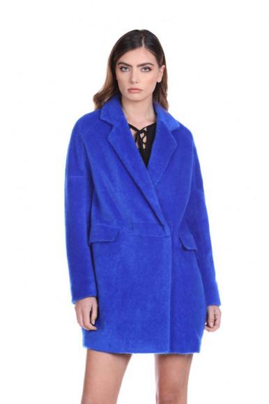 RELISH WOMEN'S BLUE COAT WIPO