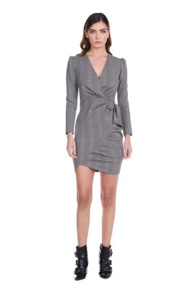 Relish women's check dress Blueg
