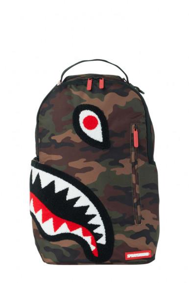 Zaino marrone uomo Torpedo Shark Sprayground 1598
